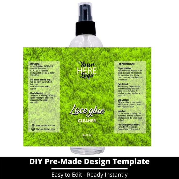 Lace Glue Cleaner Template 117