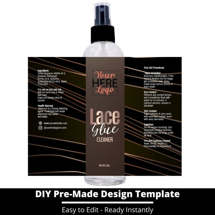 Lace Glue Cleaner Template 11