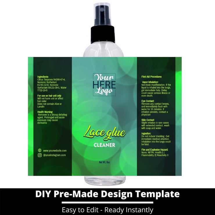 Lace Glue Cleaner Template 123