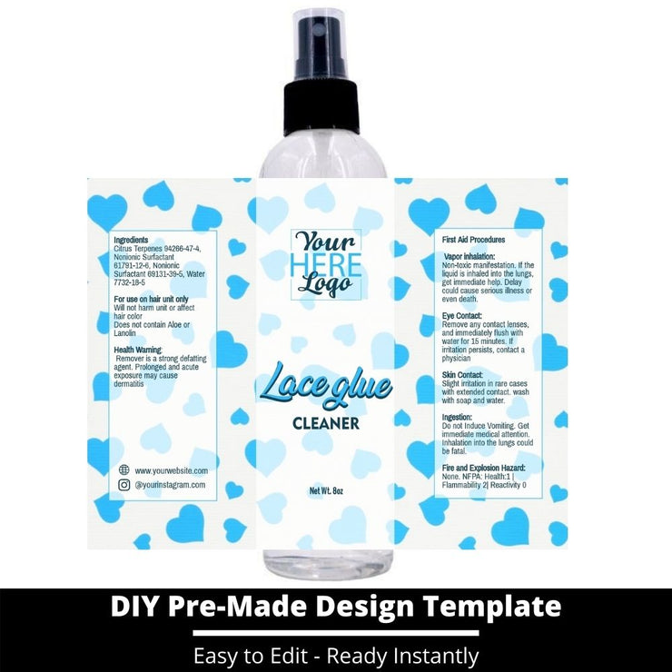 Lace Glue Cleaner Template 132