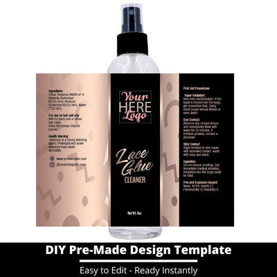 Lace Glue Cleaner Template 14