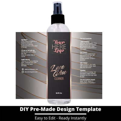 Lace Glue Cleaner Template 15