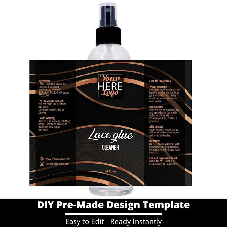 Lace Glue Cleaner Template 199