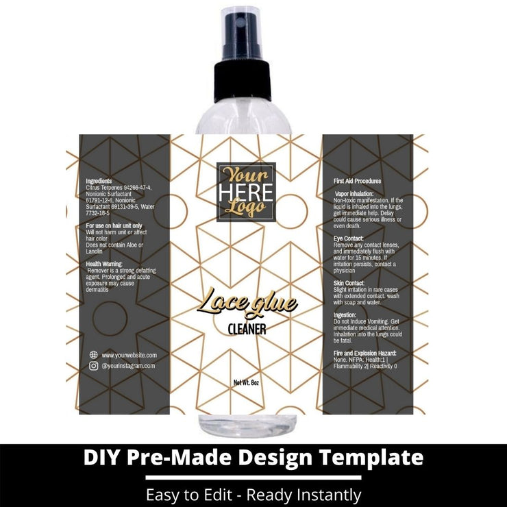 Lace Glue Cleaner Template 228