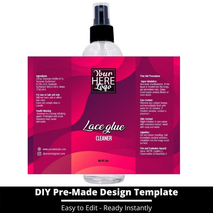 Lace Glue Cleaner Template 232