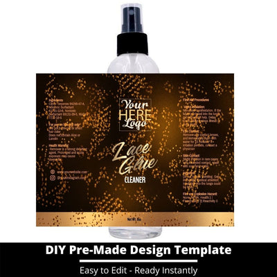 Lace Glue Cleaner Template 23