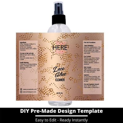 Lace Glue Cleaner Template 25