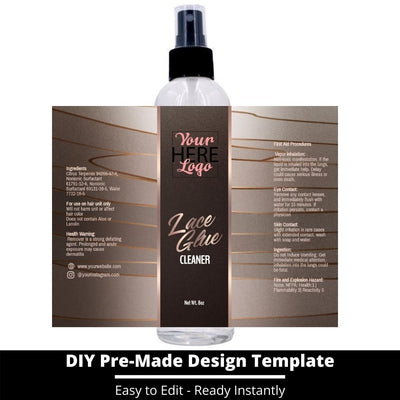 Lace Glue Cleaner Template 2