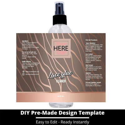 Lace Glue Cleaner Template 5