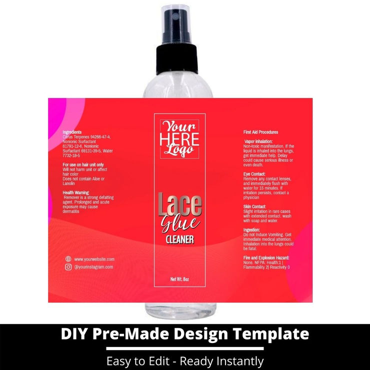 Lace Glue Cleaner Template 67