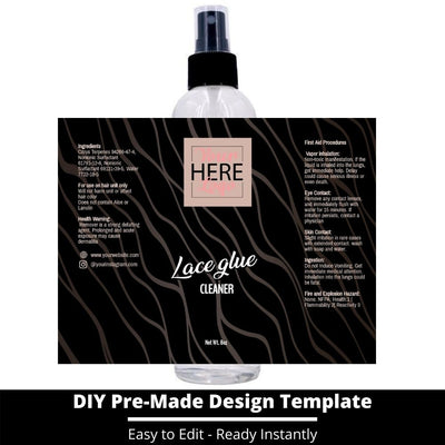 Lace Glue Cleaner Template 6