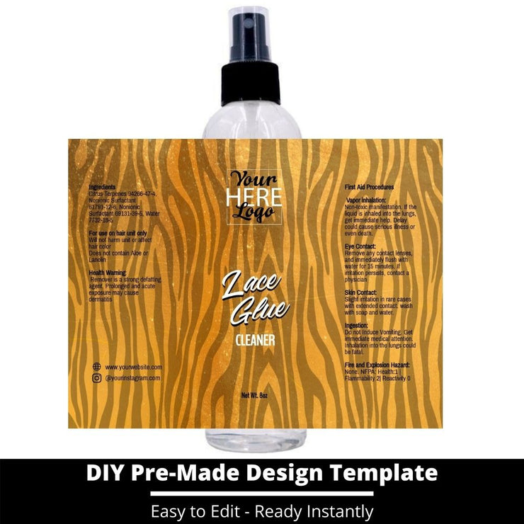 Lace Glue Cleaner Template 89