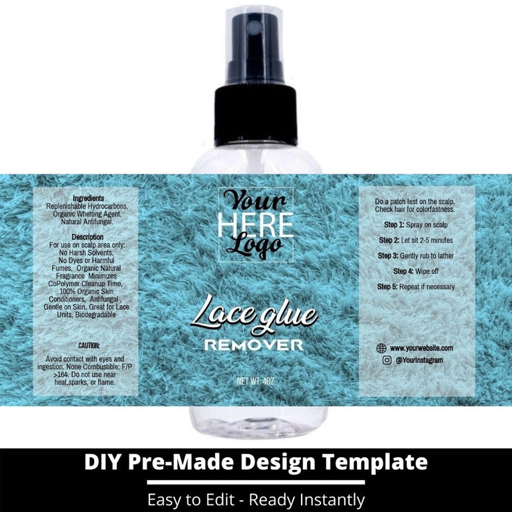 Lace Glue Remover Template 116