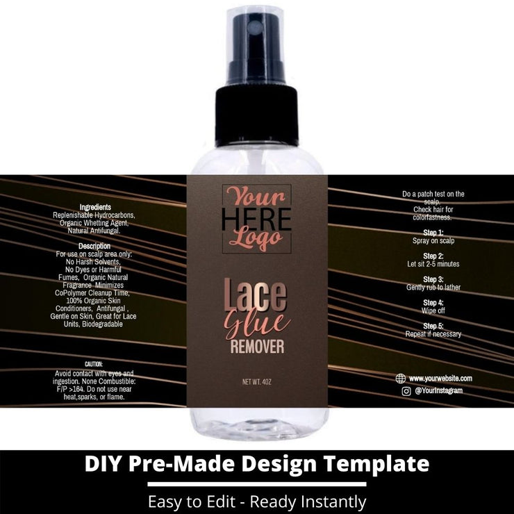 Lace Glue Remover Template 11