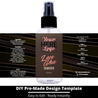Lace Glue Remover Template 12