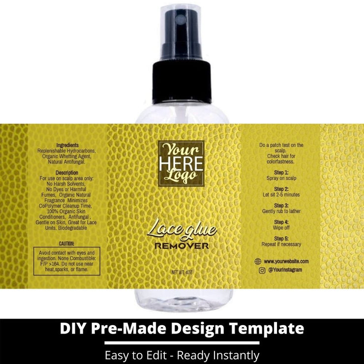 Lace Glue Remover Template 161