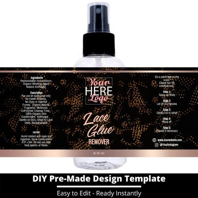 Lace Glue Remover Template 17