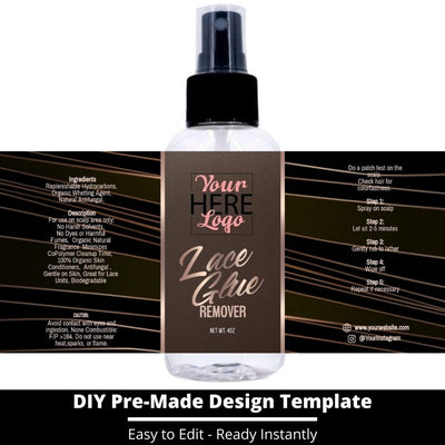 Lace Glue Remover Template 18