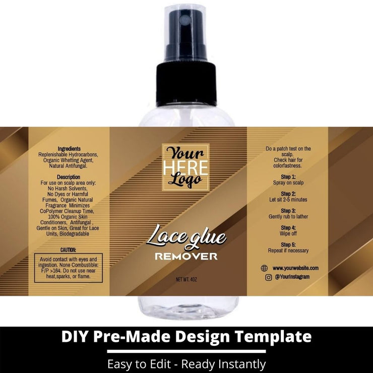 Lace Glue Remover Template 197