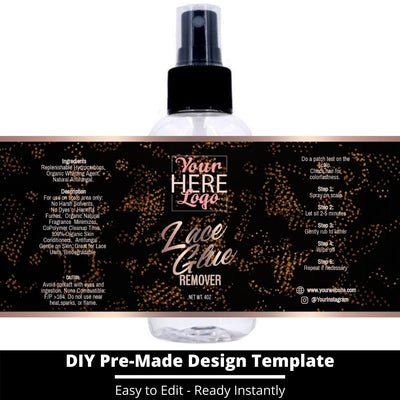 Lace Glue Remover Template 19