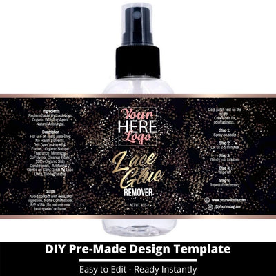 Lace Glue Remover Template 21