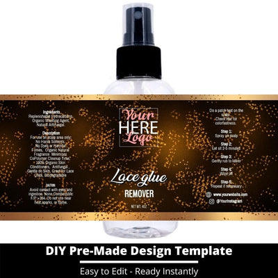 Lace Glue Remover Template 22