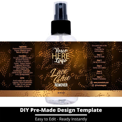 Lace Glue Remover Template 23