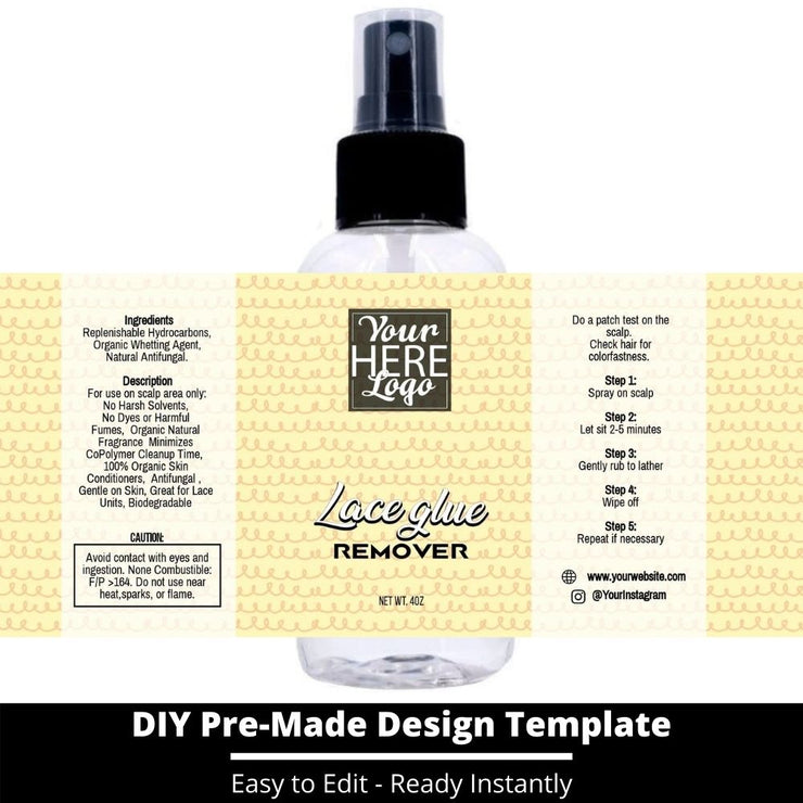 Lace Glue Remover Template 248