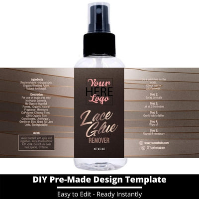 Lace Glue Remover Template 2