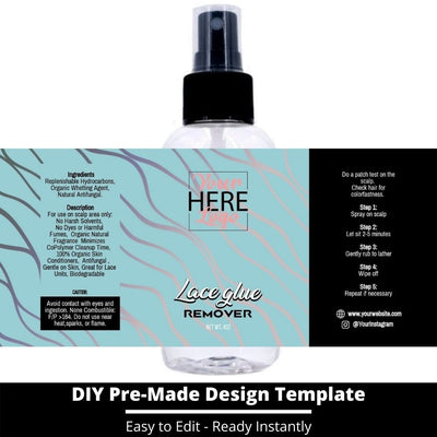 Lace Glue Remover Template 3