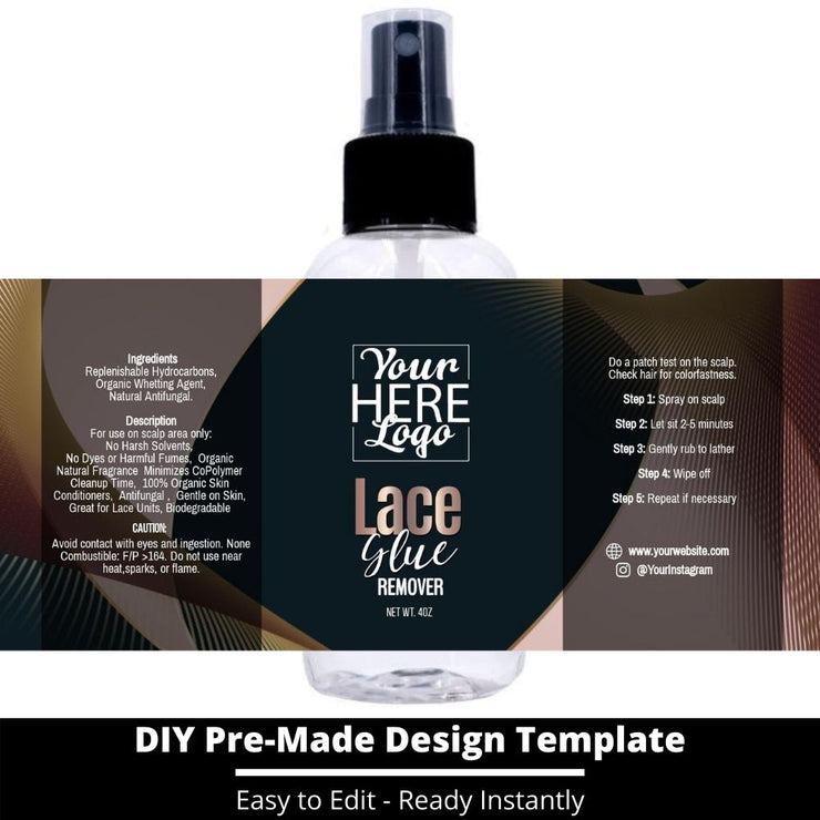 Lace Glue Remover Template 47