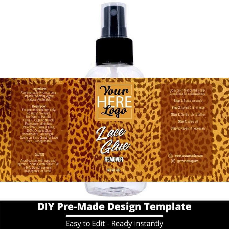 Lace Glue Remover Template 58