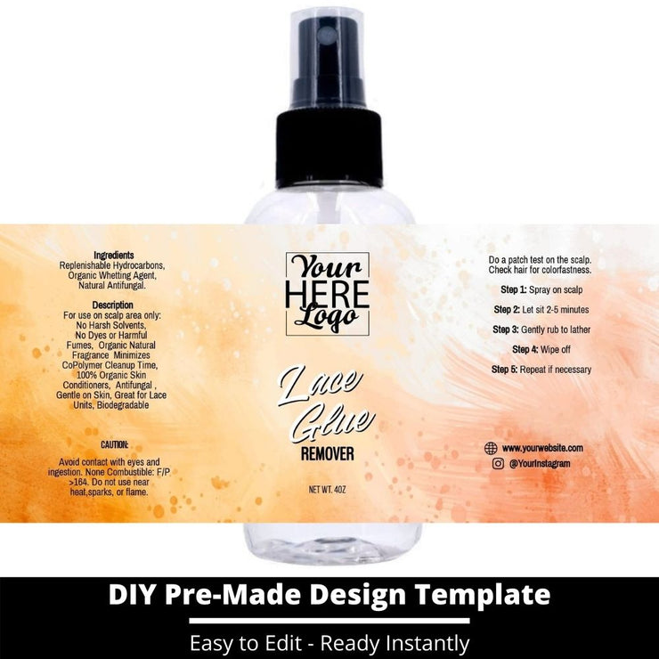 Lace Glue Remover Template 94