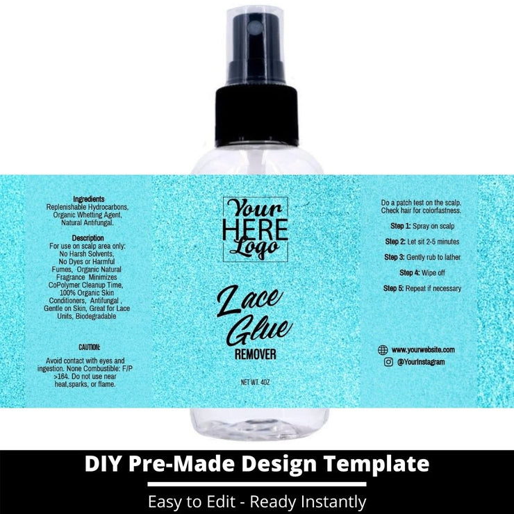 Lace Glue Remover Template 99