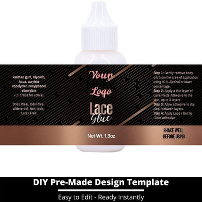Lace Glue Template 10