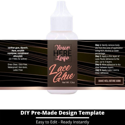 Lace Glue Template 12