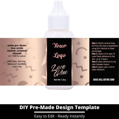 Lace Glue Template 14