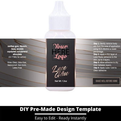 Lace Glue Template 15