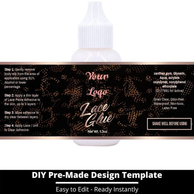 Lace Glue Template 19