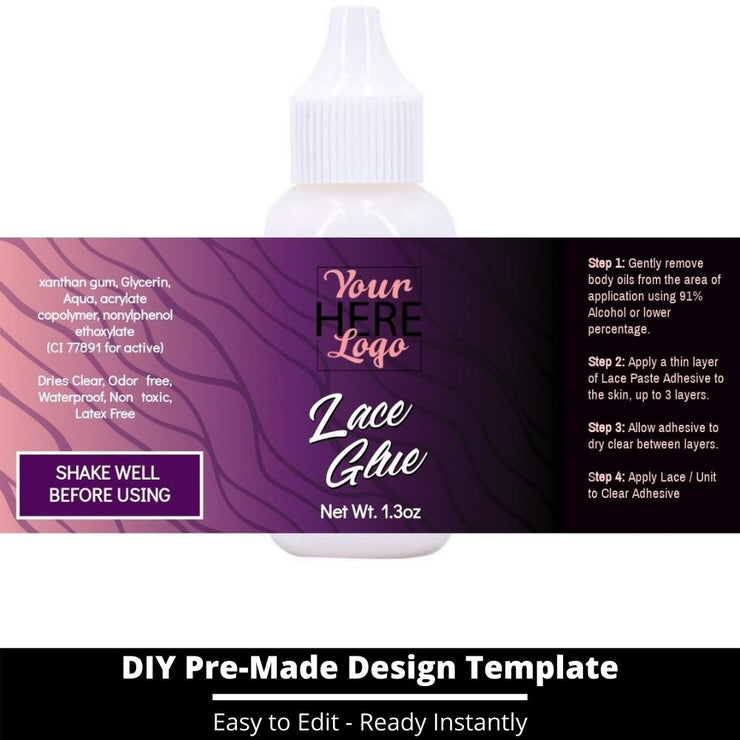 Lace Glue Template 1