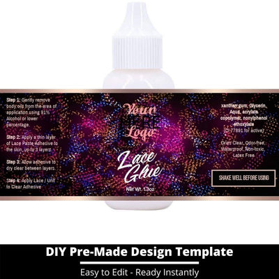 Lace Glue Template 20