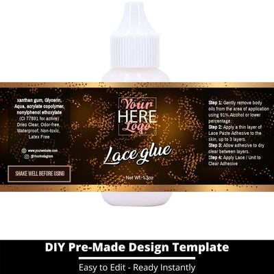 Lace Glue Template 22