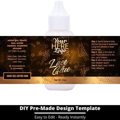 Lace Glue Template 23