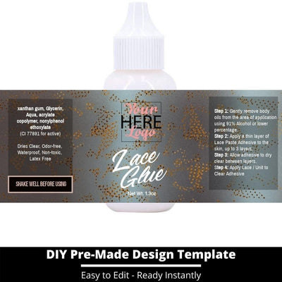 Lace Glue Template 26