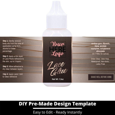 Lace Glue Template 2