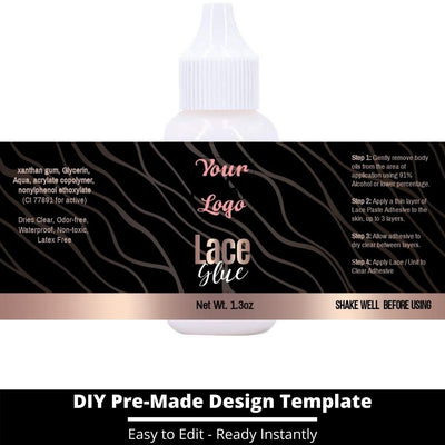 Lace Glue Template 7