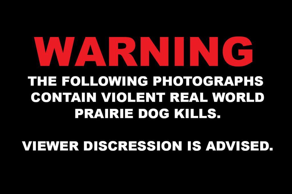 WARNING - GRAPHIC CONTENT: Hunting Prairie Dogs, 30 High Speed Photography Kill Shots