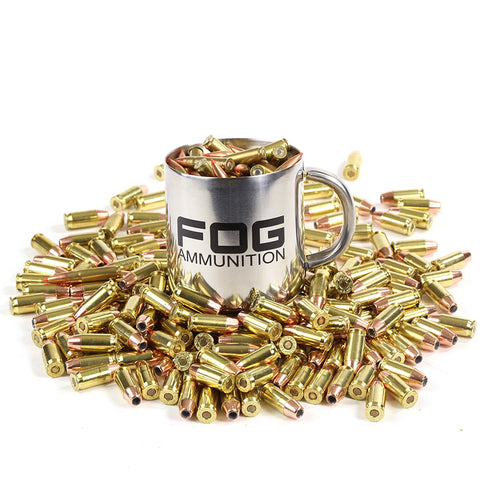 Fog Stainless Mug with ammunition