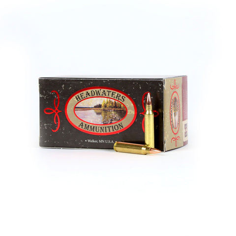 Headwaters Ammunition .223 Rem 55 Grain Hornady Soft Point Box of 50 Rounds