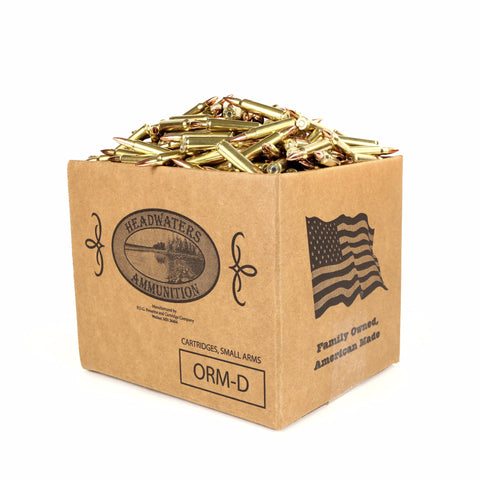 Headwaters Bulk Ammunition .223 Rem Hornady 55 Grain Full Metal Jacket - Various Quantities (Free Shipping)